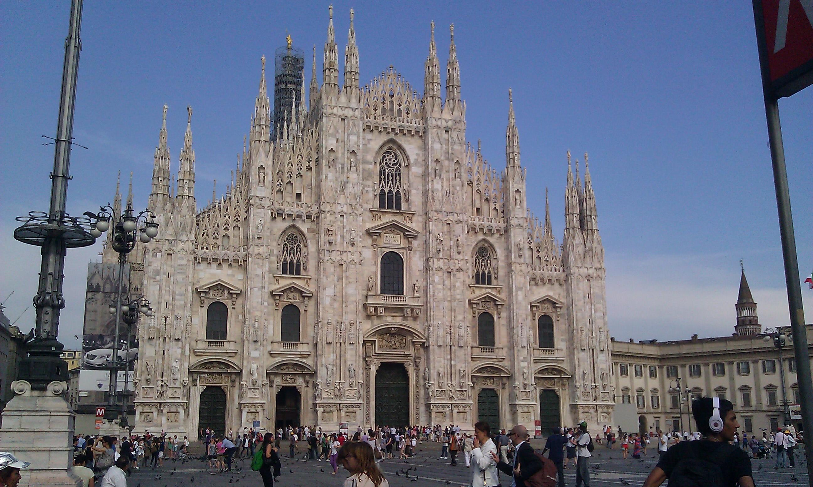 Der Dom in der Innenstadt von Mailand